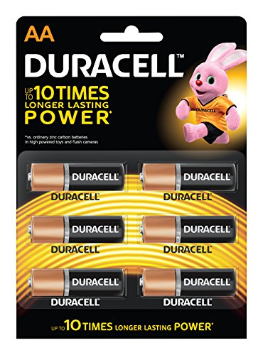 Duracell AA Camera Battery- Pack of 6