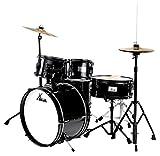 XDrum Junior Pro II Kinder Schlagzeug Schwarz