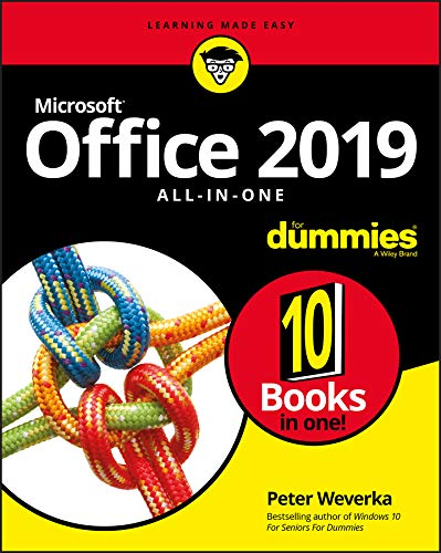 Office 2019 All-in-One For Dummies (Office All-in-one for Dummies) (English Edition)