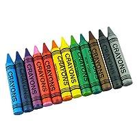 12 Piece Jumbo Wax Crayons