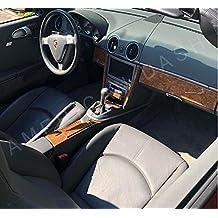 Porsche Boxster 987 Turbo Luz Interior de Madera del Burl Dash Juego de Acabados Set 2005