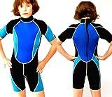 Kinder Neopren Shorty Größe 116 - 122 für ca - 6 - 7 Jahre Neoprenanzug - ts-ideen