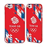Official Team GB British Olympic Association Geometric Logo Red Fender Case for iPhone 6 Plus/iPhone 6s Plus