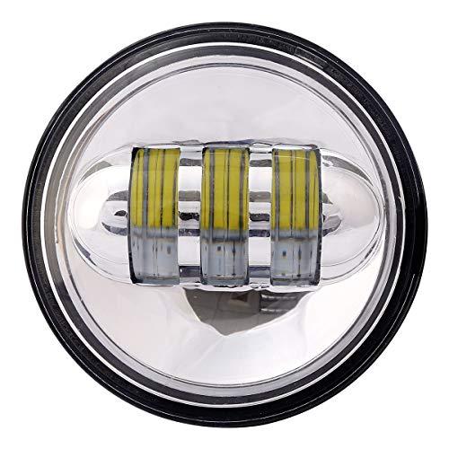 4.5 '' phares noirs Cree LED et phares antibrouillard LED pour Jeep Wrangler