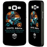 Official NFL Miami Dolphins Versus 2017 London Games Teams 2 Black Aluminium Bumper Slider Case for Samsung Galaxy Grand 2