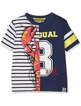 Desigual TS_Manolo, Camiseta para Niños (Azul Artico 5039), 116 (Talla del Fabricante: 5/6)