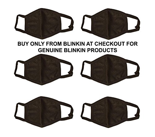 Blinkin 6 Pcs Dust/Anti Pollution Protective Face Mask Mouth &...