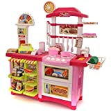 Toyshine Big Size Kitchen Set Toy With Music And Lights, 59 Playing Accessories