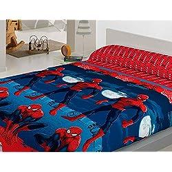Juego de Sábanas Coralina Spiderman cama 105