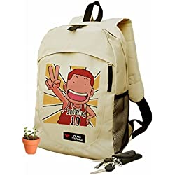new Escuela Mochila Cartoon Casual Cartera de libros Backpack Paz Baloncesto Slam Dunk rare
