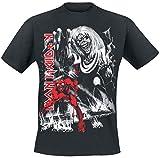 Iron Maiden Number of The Beast Camiseta Negro M