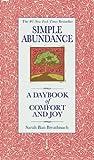 Image de Simple Abundance: A Daybook of Comfort of Joy (English Edition)