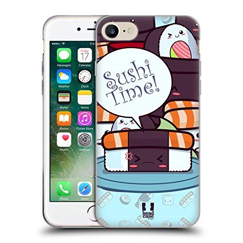 Head Case Designs Maki Temps De Sushi Étui Coque en Gel molle pour Apple iPhone 5 / 5s / SE Saumon Nori
