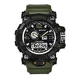 Urben Life - Reloj para Hombre, Sanda 742, Reloj de Deporte al Aire Libre, Militar, de Lujo, con LED Digital