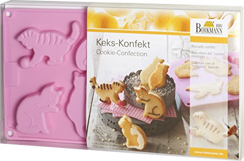 Birkmann 253056 Keks-Konfekt Katzen
