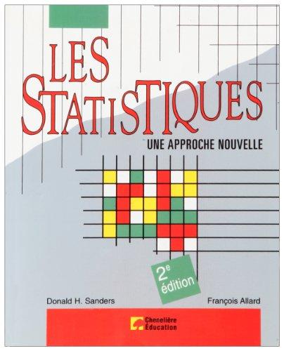 Les statistiques : Une approche nouvelle
