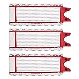 3 PCS Tampons de Rechange en Microfibre pour Vileda 1-2 Balai pulvérisateur avec...