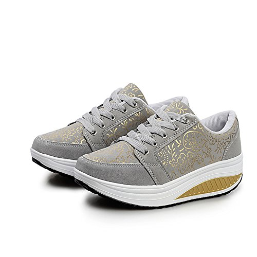 Sneakers nere con stringhe per unisex Qzbaoshu fJM0Na