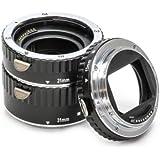 Automatik Zwischenringe 3-teilig 31mm, 21mm & 13mm für Makrofotographie passend zu Canon EF / EF-S