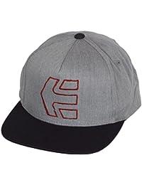 Etnies Snapback Cap ~ Sketch Icon Grey