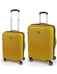 Gabol quartz juego de 2 maletas: cabina y mediana