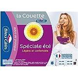 Bleu Câlin Couette Spéciale Eté Légère Blanc 220x240 cm KC20