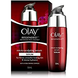 Olay Regenerist Advanced Anti-Ageing Micro Sculpting Serum + Intense Hydration with Hydra Firming Complex, Skin Cream, 50ml