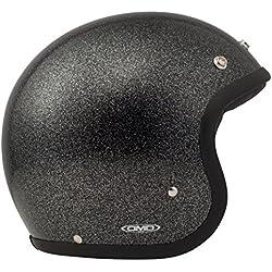 DMD 1jts30000gb01Casque Moto, paillettes noir, XS