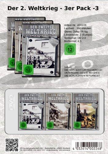 Der 2. Weltkrieg - 3er Package (3) [3 DVDs]
