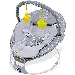 Asalvo Excellent - Hamaca para bebés, diseño pajarera, color gris