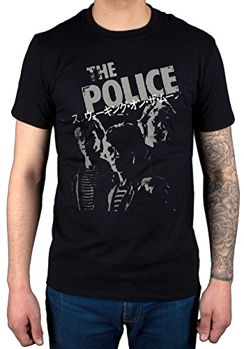 Official The Police Japanese T-Shirt