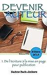 Devenir Auteur, de l'écriture à la mise en page pour publication par Bach-Jockers