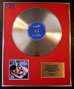 Boney M Goldene Schallplatte Record Limitierte Edition/Nightflight To Venus