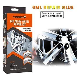 Elementral Lackreparatur Für Autoreifen - 5 Minuten Schnellreparaturwerkzeug Silber Reparatur Autoreifen Kratzer