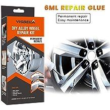 Rueda de Auto Herramienta de recauchutado del buje - 5 Minutos Reparar el Kit de Adhesivo de reparación para el Cuidado del rasguño de la llanta del Auto ...