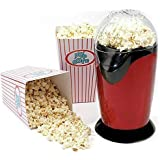 BADA Store 1200W Electric Hot Air Popcorn Machine for Home and Shop (Multicolor)