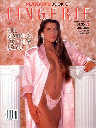PLAYBOY'S LINGERIE MAGAZINE ~ JAN/FEB 1990 by Playboy; Jeff Cohen Playboys Lingerie
