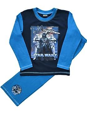 Jungen Star Wars Lange Pyjamas Größen 4 bis 10 Jahren
