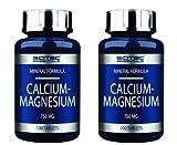 Scitec Nutrition 2 x Calcium-Magnesium 100 Kapseln