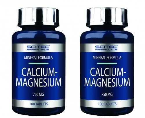 Scitec Nutrition 2 x Calcium-Magnesium 100 Tabletten (2erPack = 200 Tabletten)