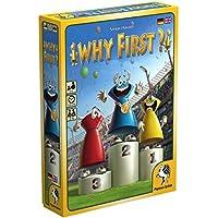 Pegasus Spiele 18119G–Why First?, jeux de cartes