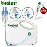 #6: Bestest Compressor Nebulizer Complete Kit with Child and Adult Mask