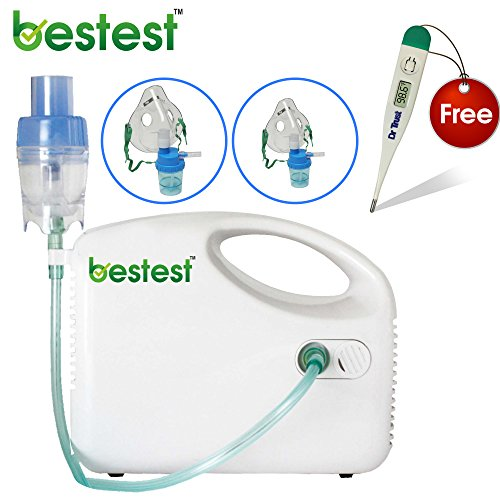 Bestest Compressor Nebulizer Complete Kit with Child and Adult Mask  available at amazon for Rs.1249