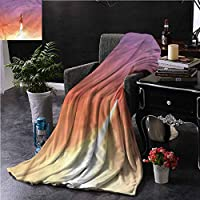 Warm Microfiber Blanket Outer Space Solar System Cosmos Warm Throws