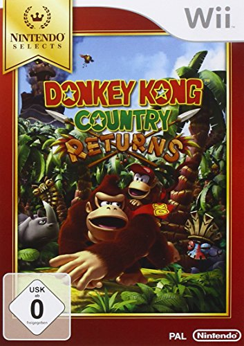 Donkey Kong Country Returns (Wii Zelda Nintendo)