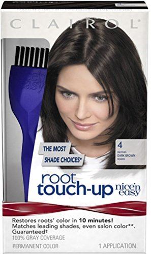 Nice 'n Easy Easy Root Touch-Up, Dark Brown [004] 1 ea by Clairol - Clairol Touch-up