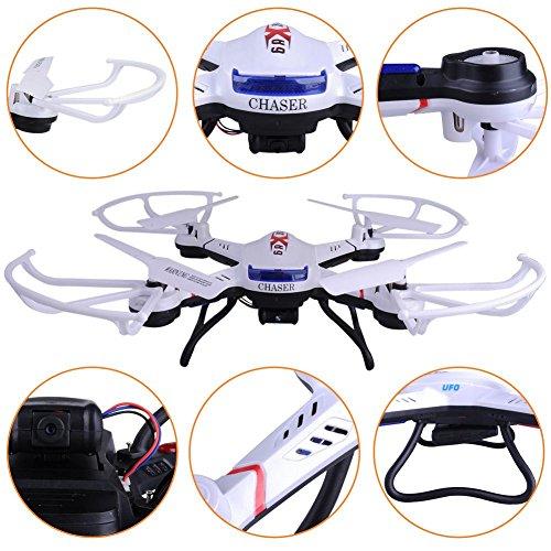 s-idee 01502 Quadrocopter S181C HD KAMERA 4.5 Kanal 2.4 Ghz Drohne mit Gyroscope Technik - 5