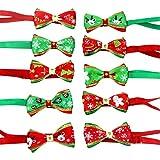 cuckoo-X Hunde-Krawatte, Weihnachtsmotiv, verstellbar