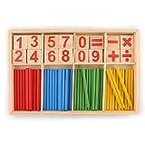 Peradix Juguetes Juegos Educativos Matemáticas con Números Palillos Aprendizaje para Niños - Peradix - amazon.es