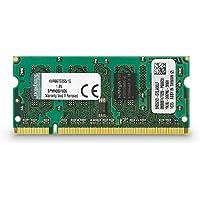 Kingston KVR667D2S5/1G Arbeitsspeicher 1GB (DDR2 Non-ECC CL5 SODIMM, 200-pin, 1.8V)
